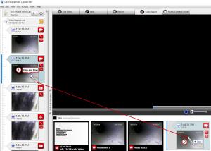 HQ video report click drag media