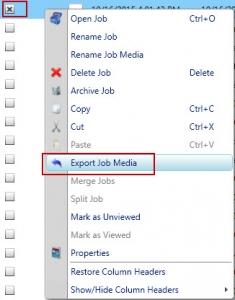 Export Media