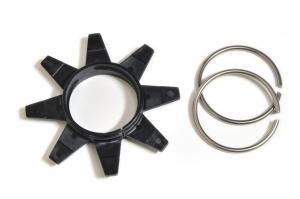 Star guide and C-rings