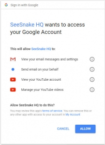 Google authorize HQ