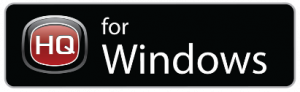 HQ for Windows badge